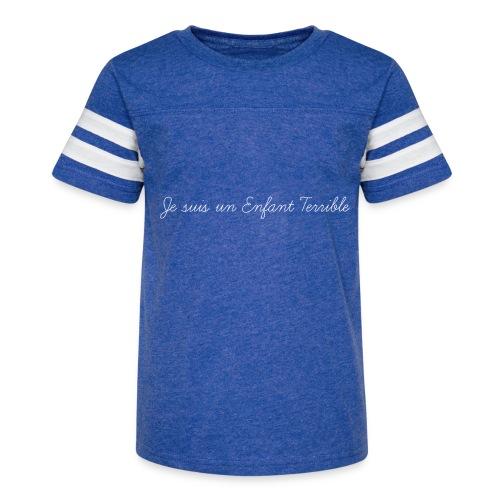 Je suis un Enfant Terrible - Kid's Vintage Sport T-Shirt