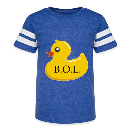 Official B.O.L. Ducky Duck Logo - Kid's Vintage Sport T-Shirt