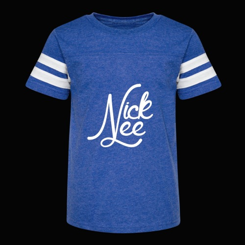 Nick Lee Logo - Kid's Vintage Sport T-Shirt