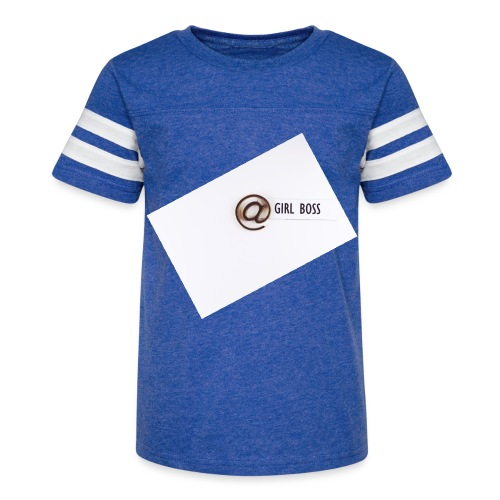 Girl Boss! - Kid's Vintage Sport T-Shirt