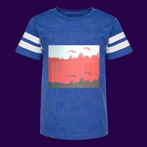 Ahiru - Kid's Vintage Sport T-Shirt