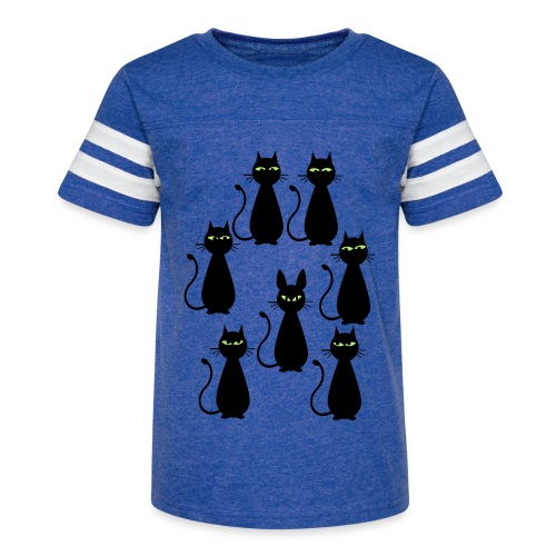 Cats and a cat with rabbit ears - Kid's Vintage Sport T-Shirt