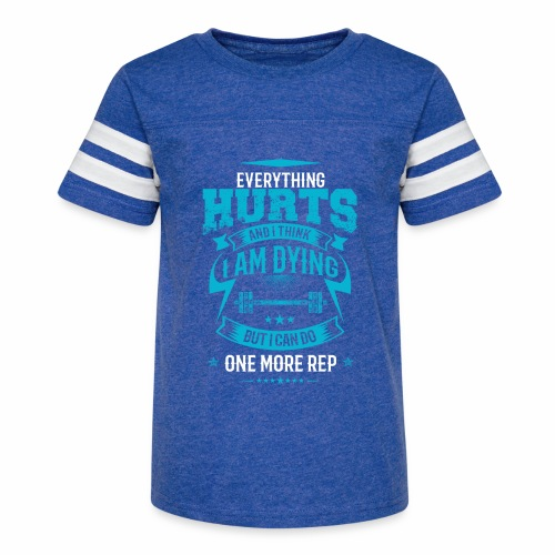 One more rep - Kid's Vintage Sport T-Shirt