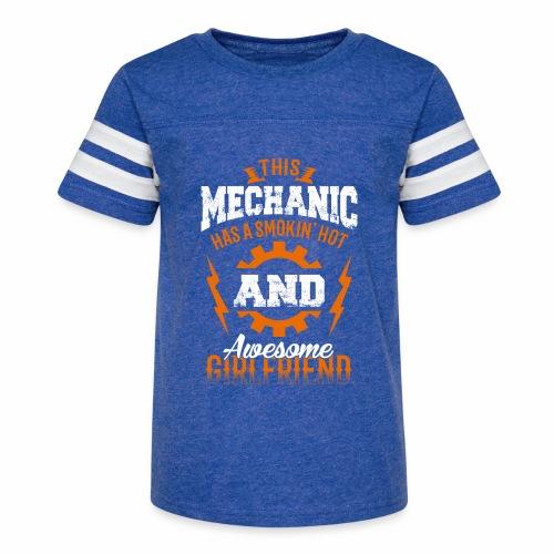 Mechanic girlfriend - Kid's Vintage Sport T-Shirt
