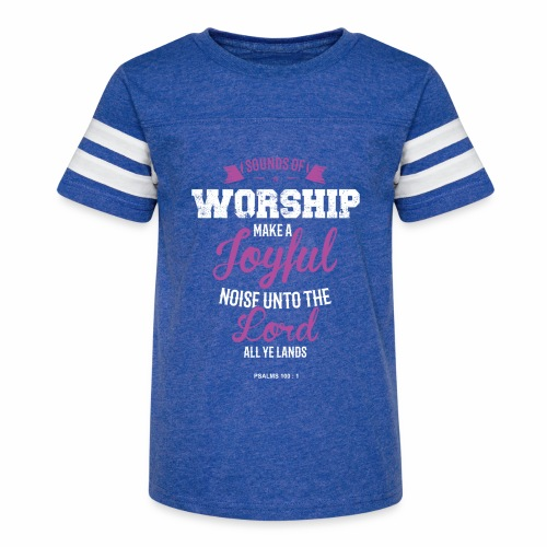 Bible Worship - Kid's Vintage Sport T-Shirt