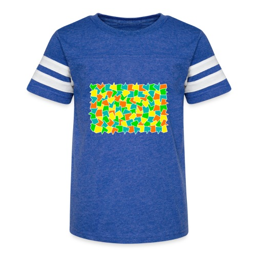 Dynamic movement - Kid's Vintage Sport T-Shirt