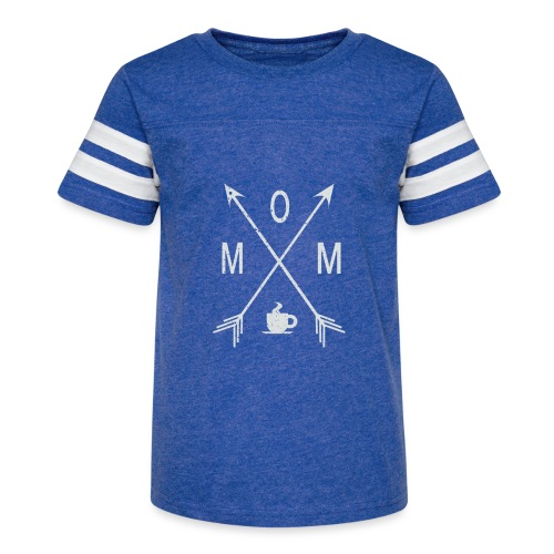 Mom Loves Coffee - Kid's Vintage Sport T-Shirt
