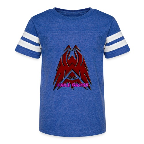 3XILE Games Logo - Kid's Vintage Sport T-Shirt