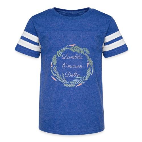 LOD Flower Wreath 1 - Kid's Vintage Sport T-Shirt