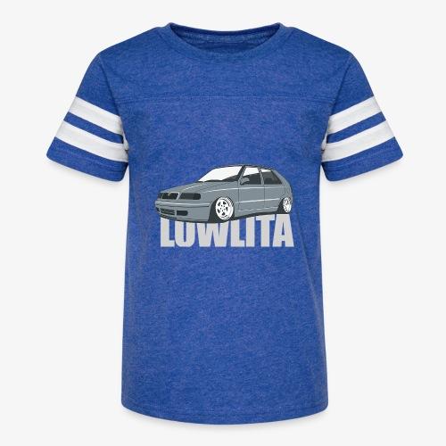 felicia lowlita - Kid's Vintage Sport T-Shirt