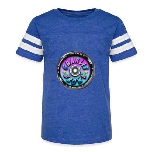 Charlie Brown Logo - Kid's Vintage Sport T-Shirt