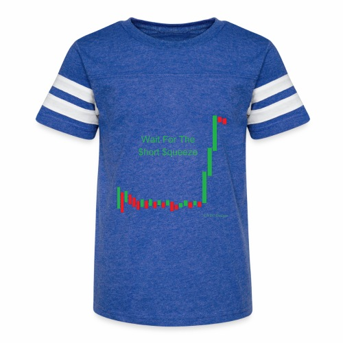 Wait for the short squeeze - Kid's Vintage Sport T-Shirt