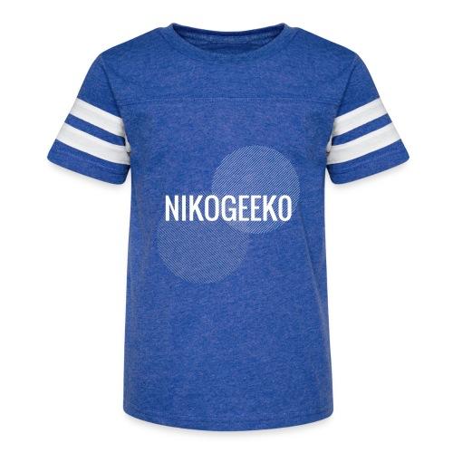 Nikogeek0 - Kid's Vintage Sport T-Shirt