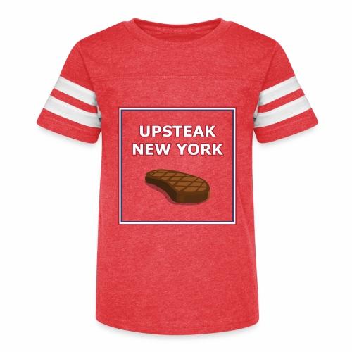 Upsteak New York | July 4 Edition - Kid's Vintage Sport T-Shirt