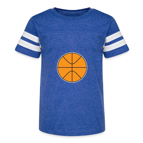 Plain basketball - Kid's Vintage Sport T-Shirt