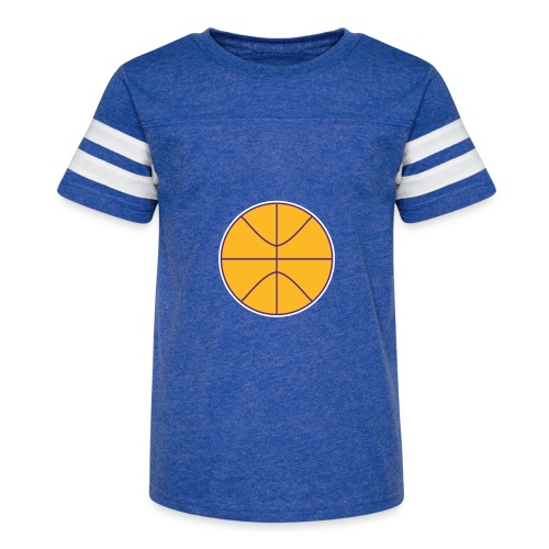 Basketball purple and gold - Kid's Vintage Sport T-Shirt