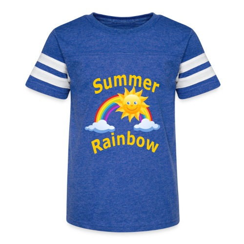Summer Rainbow - Kid's Vintage Sport T-Shirt