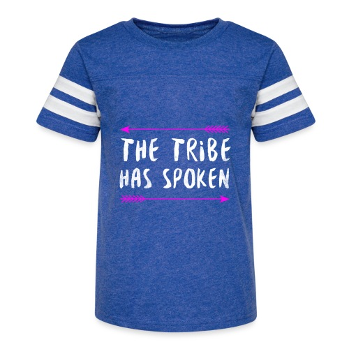 The Tribe Has Spoken - Kid's Vintage Sport T-Shirt