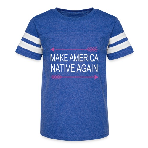MakeAmericaNativeAgain - Kid's Vintage Sport T-Shirt
