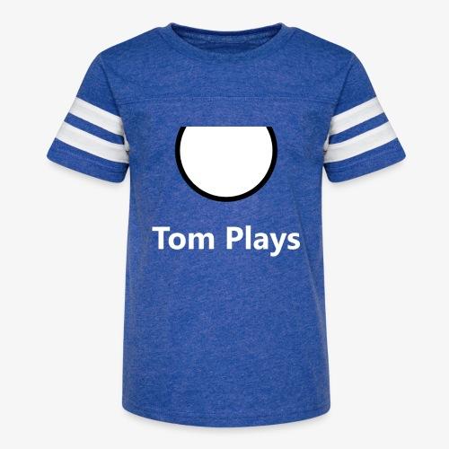 TomPlaysCircle - Kid's Vintage Sport T-Shirt