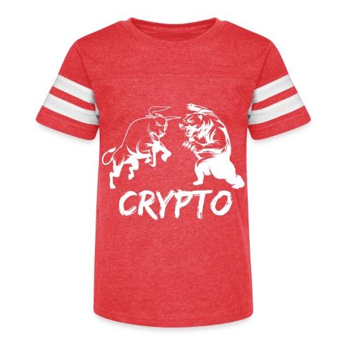 CryptoBattle White - Kid's Vintage Sport T-Shirt