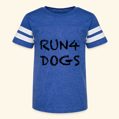 RUN4DOGS NAME - Kid's Vintage Sport T-Shirt