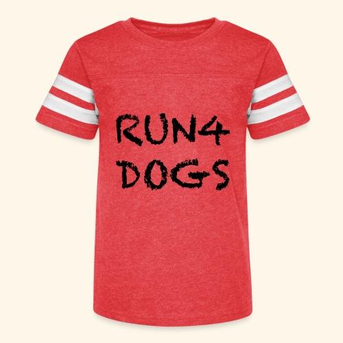 RUN4DOGS NAME - Kid's Vintage Sport T-Shirt