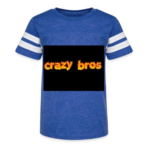 Crazy Bros logo - Kid's Vintage Sport T-Shirt
