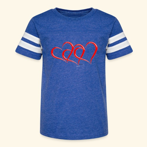 3hrts - Kid's Vintage Sport T-Shirt
