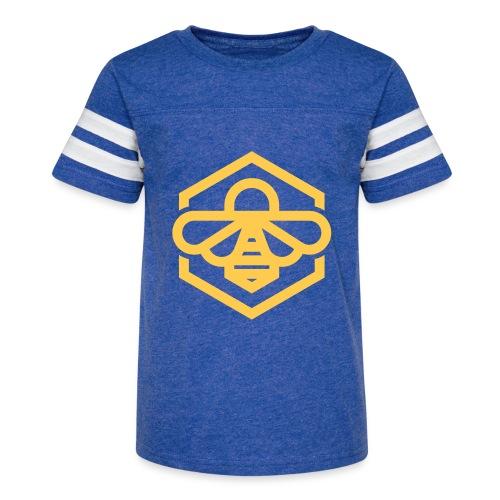 bee symbol orange - Kid's Vintage Sport T-Shirt