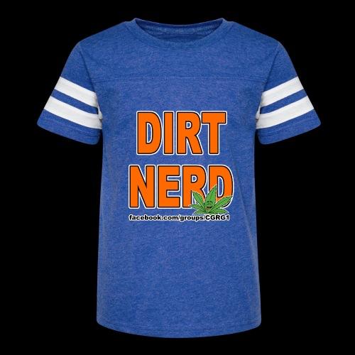 Dirt Nerd - Kid's Vintage Sport T-Shirt
