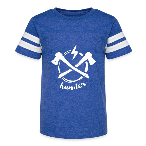 woodchipper back - Kid's Vintage Sport T-Shirt