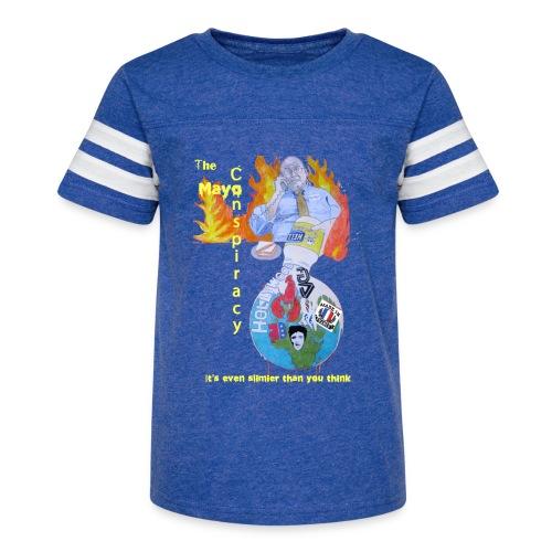 Mayo-Conspiracy - Kid's Vintage Sport T-Shirt