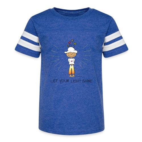 Let your light shine - Kid's Vintage Sport T-Shirt