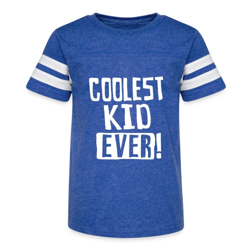 Coolest kid ever - Kid's Vintage Sport T-Shirt