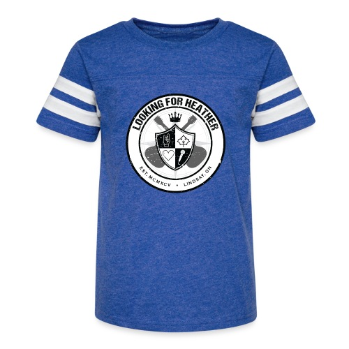 Looking For Heather - Crest Logo - Kid's Vintage Sport T-Shirt