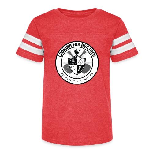 Looking For Heather - Crest Logo - Kid's Vintage Sport T-Shirt