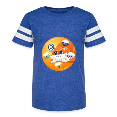 The Babyccinos The letter С - Kid's Vintage Sports T-Shirt