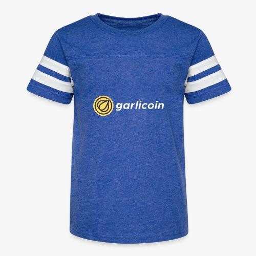 Garlicoin - Kid's Vintage Sport T-Shirt