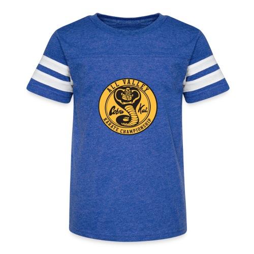 Cobra Kai The Karate Kid - Kid's Vintage Sport T-Shirt