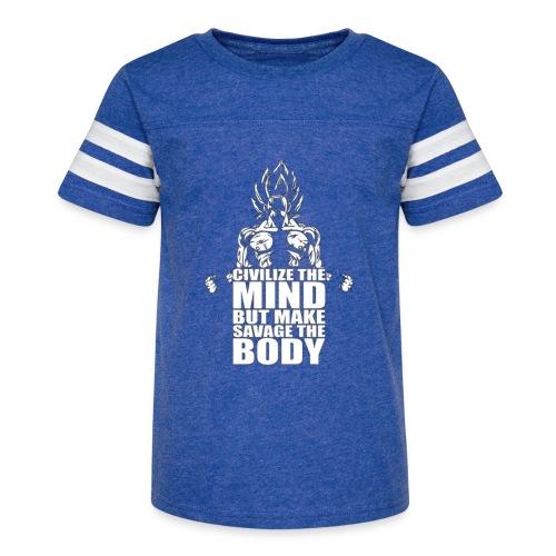 Dbz C Shirt - Kid's Vintage Sport T-Shirt