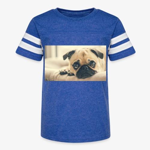 Pug - Kid's Vintage Sport T-Shirt
