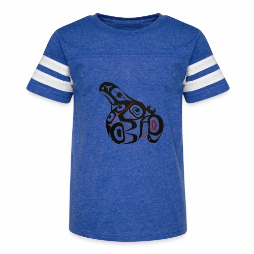 Killer Whale - Kid's Vintage Sport T-Shirt