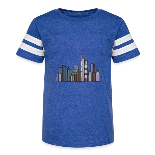 Frankfurt skyline - Kid's Vintage Sport T-Shirt