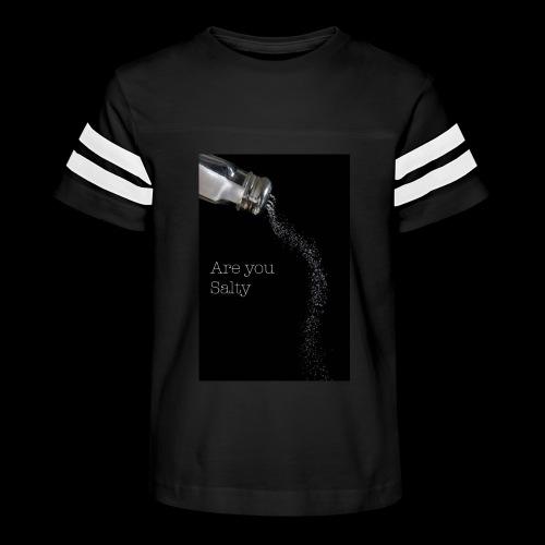 E1EC8123 AF44 4433 A6FE 5DD8FBC5CCFE Are you Salty - Kid's Vintage Sport T-Shirt