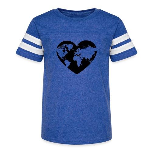 Earth Love - Kid's Vintage Sport T-Shirt