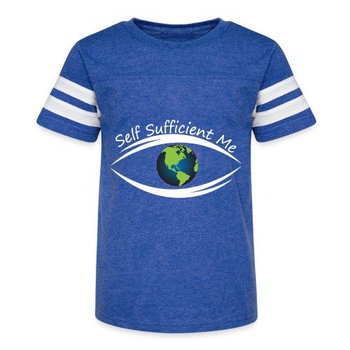 Self Sufficient Me Logo Large - Kid's Vintage Sport T-Shirt