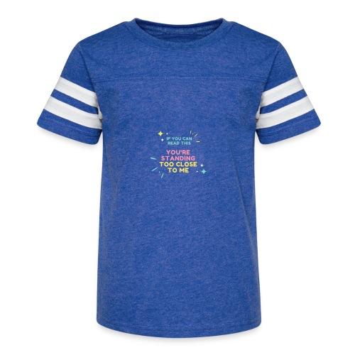 Fight Corona - Kid's Vintage Sports T-Shirt