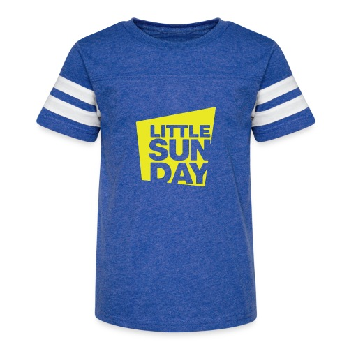 littleSUNDAY Official Logo - Kid's Vintage Sport T-Shirt