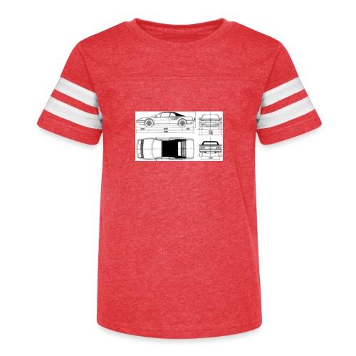 artists rendering - Kid's Vintage Sport T-Shirt
